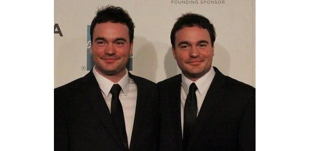 キャストのマーク&ミッキー・マクドナルドは双子。左がマーク、右がミッキー