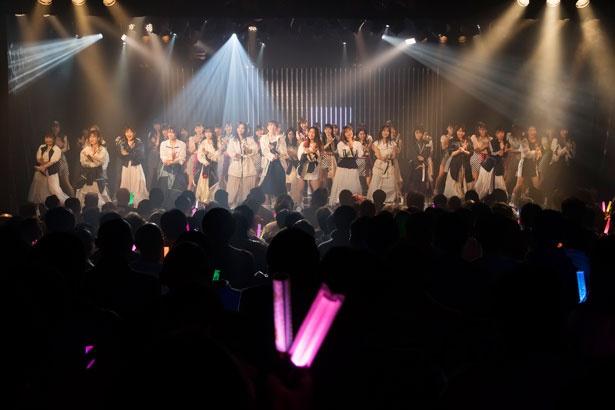 「2020新春特別公演」を開催したNMB48