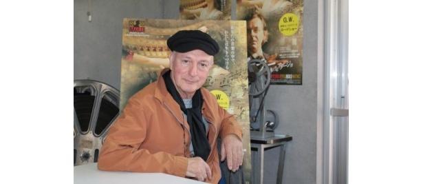 次回作は『バグダッド・カフェ』のようなスタンスの映画で、『グレートヒェンのバスハウス』(仮)になると語ってくれたアドロン監督