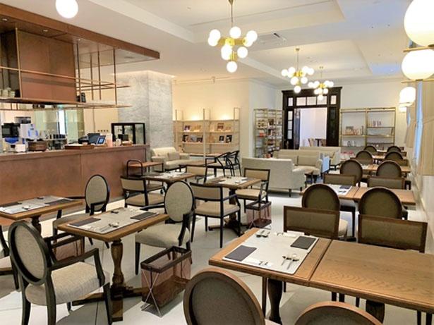 神戸市立博物館の1階にあり、10時から17時の通し営業なので、ランチからカフェまで幅広く利用できるのもうれしい/TOOTH TOOTH 凸凹茶房