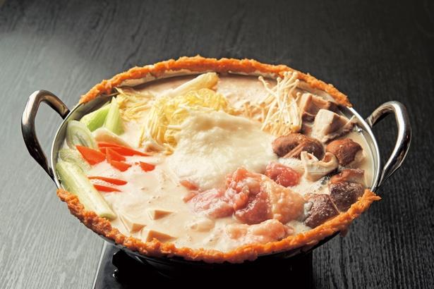 鶏プル発酵鍋(1人前2500円)/炭焼き・幸