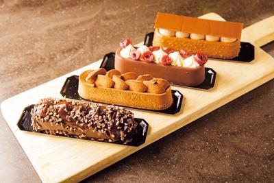 チョコレートチーズケーキ(税込680円~)/Addict Chocolate Fabien Berteau