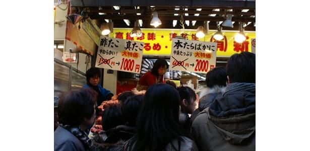 6000円のたらばがにが2000円!? これぞアメ横値引き!