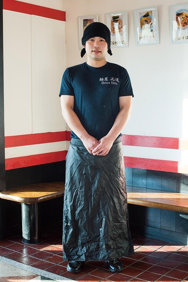 「麺処 門つる」などで4年ほど腕を磨いて独立した店主の片岡さん