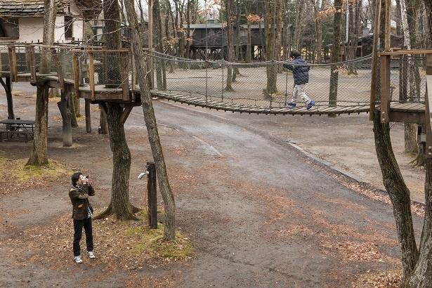 「すごいじゃん康平、ひとりで歩けるようになったね」とカメラを向けるパパ