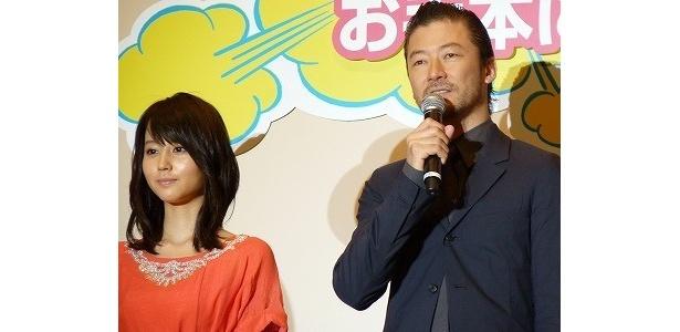 【画像】劇中で見せる堀北真希と浅野のおバカぶりに注目(写真左から)