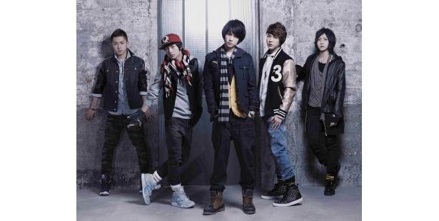 日本地上波初レギュラーを獲得した大国男児のメンバー(左からヒョンミン、ジェイ、カラム、インジュン、ミカ)