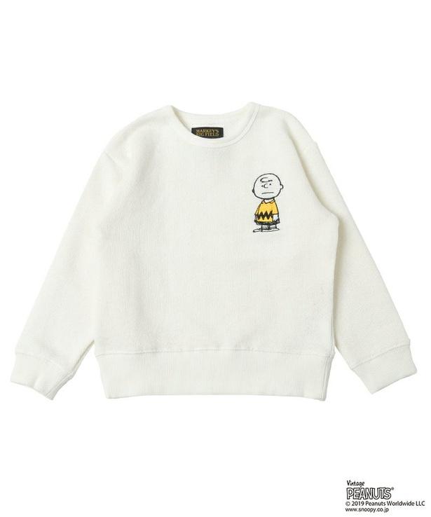 「SNウラケトレーナー チャーリー・ブラウン(OW)」(3300円)