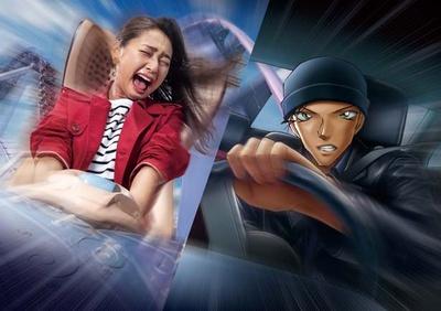 「名探偵コナン」ならではのスリル満点の物語が繰り広げられる/ユニバーサル・スタジオ・ジャパン