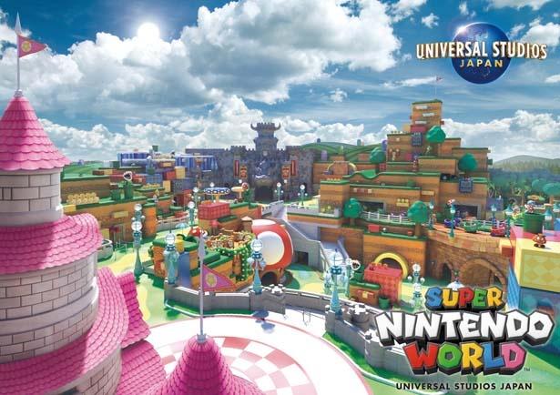 「SUPER NINTENDO WORLD」日本が世界に誇る人気ゲームがパークに!/ユニバーサル・スタジオ・ジャパン