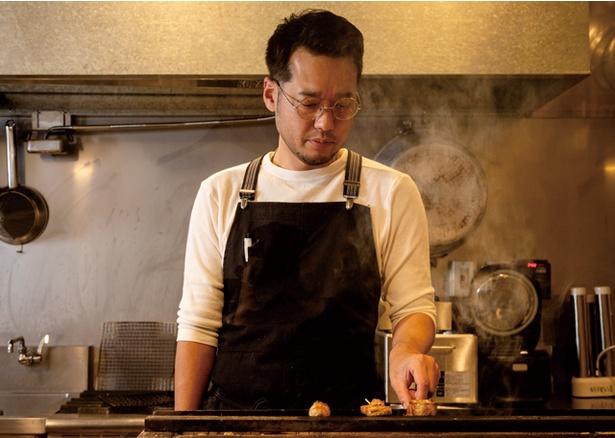 熾火のイオ / 海外の日本料理店や福岡の人気焼鳥店で腕を磨いた、店主の井生 剛さん