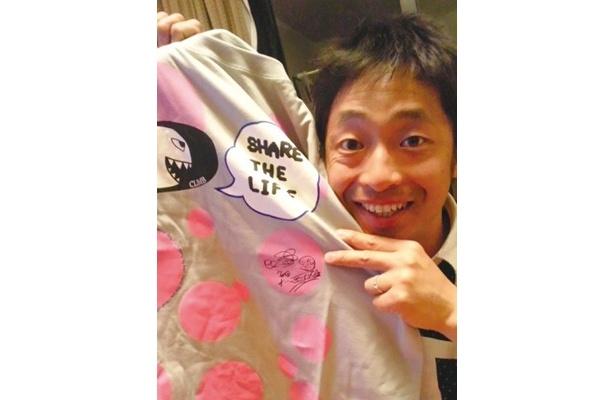 安田大サーカス 団長●サイン入りTシャツを出品中