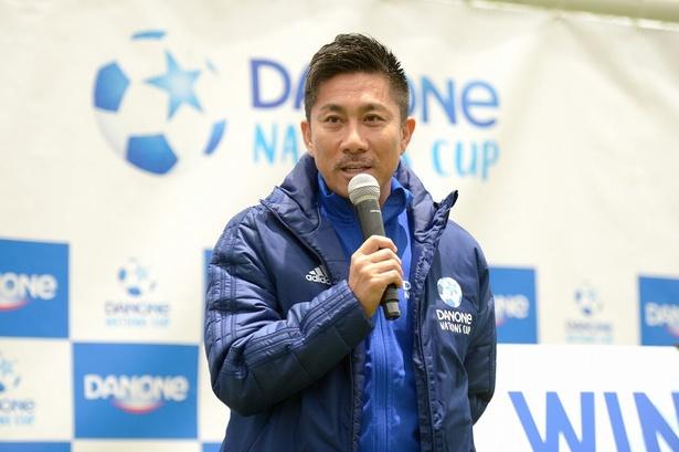 2年連続でダノンネーションズカップ2020in JAPAN福島会場予選に来場が決定した前園真聖氏