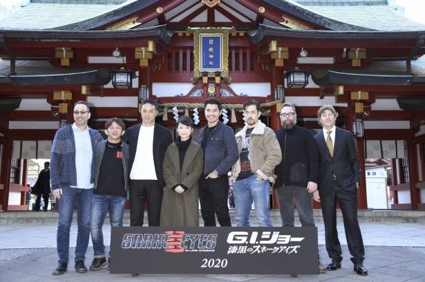 日本ロケを行う『G.I.ジョー:漆黒のスネークアイズ』の大ヒットを祈願
