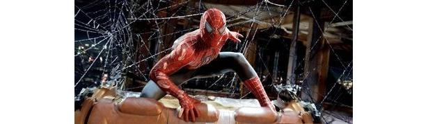 『スパイダーマン2』が4位にランクイン。日本でもおなじみのキャラクターだ