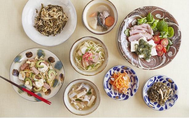 朝食はビュッフェスタイル / Lequ Okinawa Chatan Spa & Resort