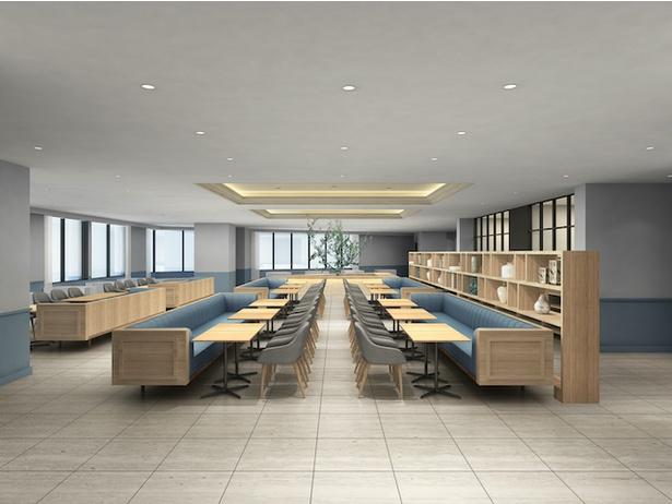 大きなキッチンのような会場では、みんなで楽しく作って食べる体験コーナーが充実 / 「Lequ Okinawa Chatan Spa & Resort
