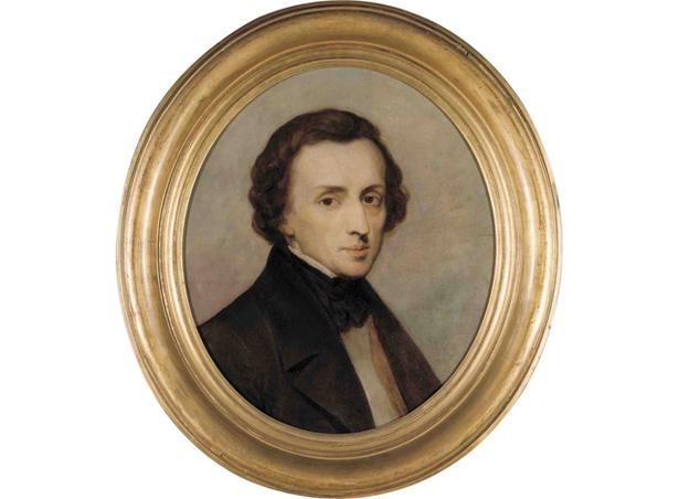 ショパン―200年の肖像 / アリ・シェフェール《フリデリク・ショパンの肖像》 1847年 ドルトレヒト美術館