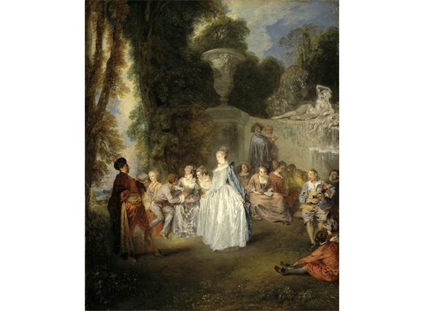 フランス絵画の精華 / ジャン=アントワーヌ・ヴァトー《ヴェネチアの宴》スコットランド・ナショナル・ギャラリー National Galleries of Scotland. Bequest of Lady Murray of Henderland 1861