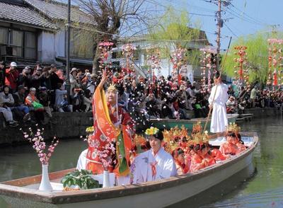 柳川雛祭りさげもんめぐり / おひな様水上パレード