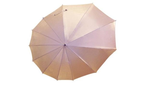 デザイン傘「雫-SHIZUKU-」(9030円) シャインゴールド