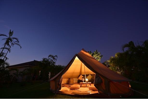 世界屈指の美しさといわれるほど人気の星空とグランピングを満喫できる / フサキビーチリゾート ホテル&ヴィラズ