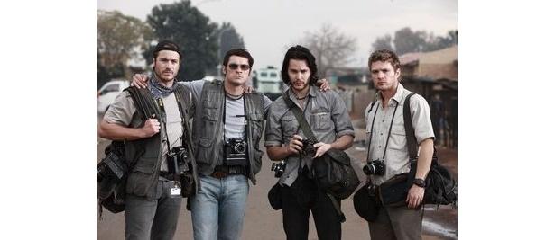 若き4人の戦場カメラマンたちがたどった運命を描いた『The Bang Bang Club』