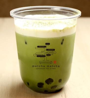 「宇治抹茶ラテ」(580円)も「北川半兵衛商店」の抹茶を使用