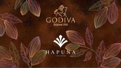 「LOVE GODIVA at LUXE DINING HAPUNA」は、1月15日(水)~3月15日(日)まで開催