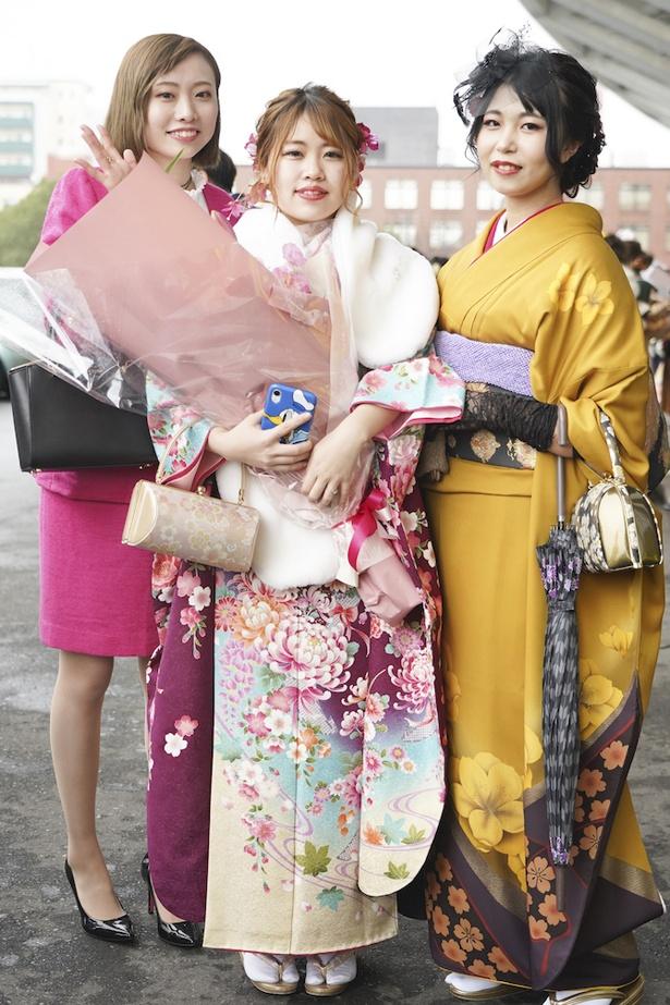 2020年の北九州市成人式を彩った新成人