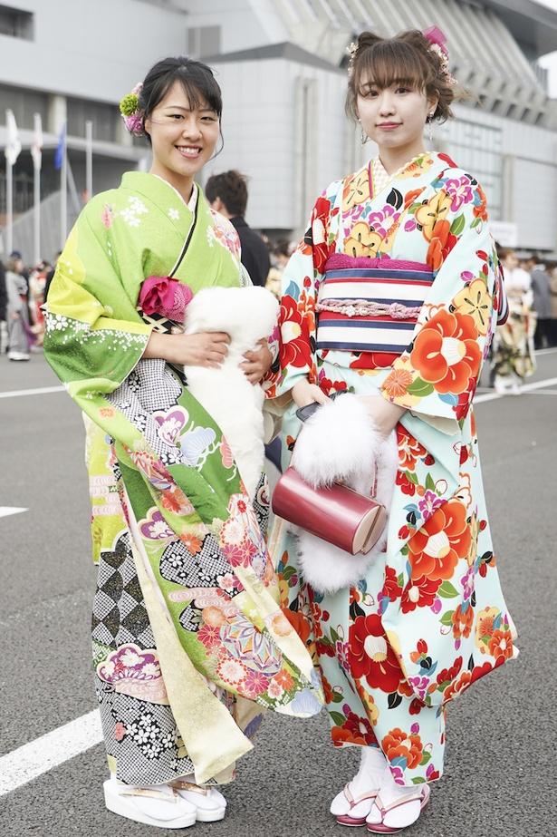 2020年の福岡市成人式を彩った博多美人