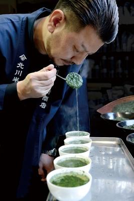 京都宇治の老舗茶問屋「北川半兵衛商店」