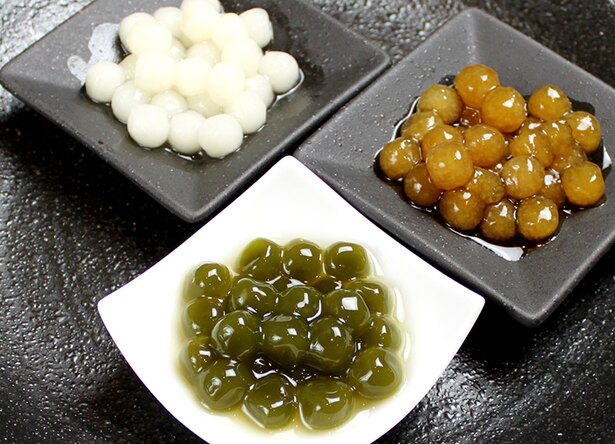 【写真】タピオカと和素材が融合!白玉やわらび餅味の「生タピオカ」が業界初登場