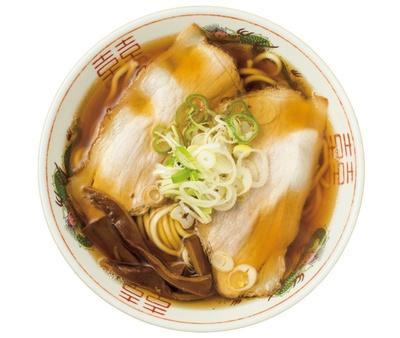 2種類の煮干しでダシを取ったあっさりスープは津軽地方王道の1杯「あっさり」(税込 750円) / 長尾中華そば