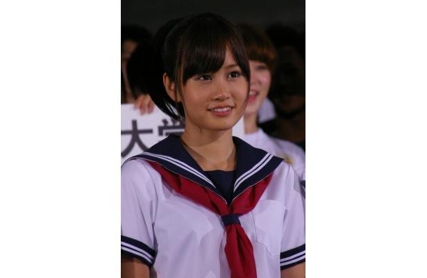 本作が映画初主演となった前田敦子