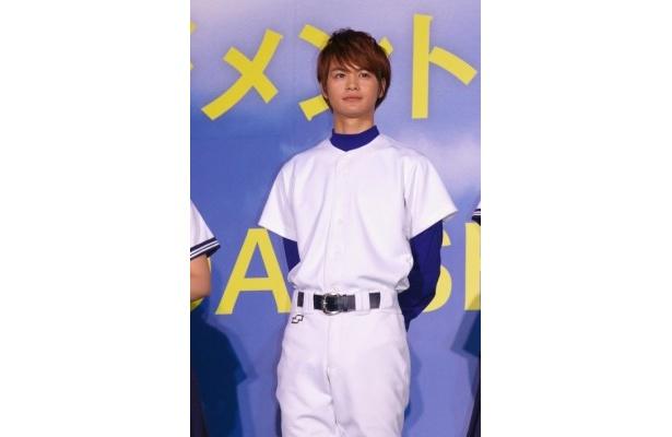 やる気のない野球部のエース・浅野慶一郎を演じた瀬戸康史