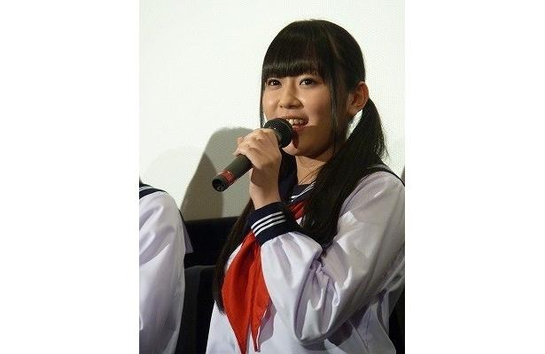 本作で女優デビューを飾った多田愛佳