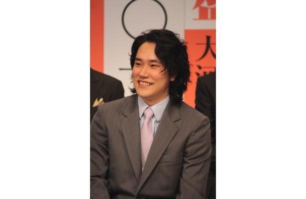 【写真】新キャストと共に意気込みを語る主演・松山ケンイチ