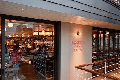 船上レストラン『PEZZERIADA DOTS』
