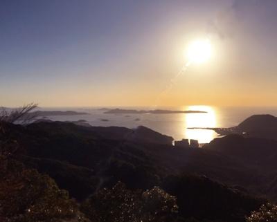 稲佐山山頂展望台 / 昼は雲仙や天草、五島列島も見渡すことが可能だ