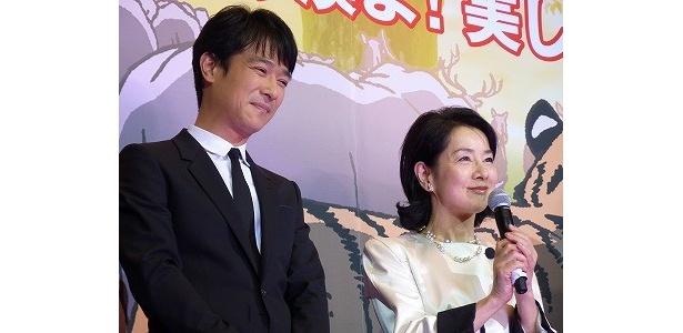 劇中で親子を演じた吉永と堺雅人