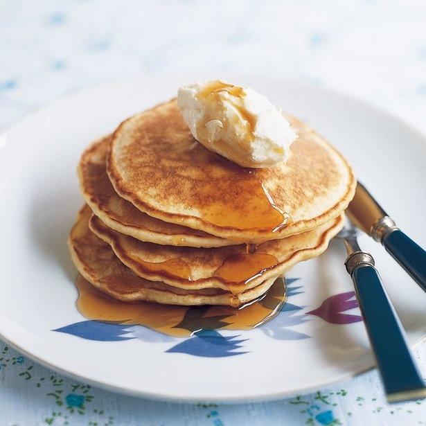 朝食やおやつの時間にお試しあれ!「しょうがバナナパンケーキ」