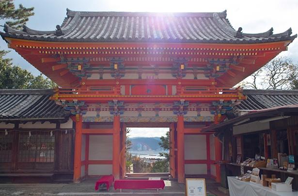 紀州東照宮には、名工・左甚五郎の作とされる彫刻が多く残っている