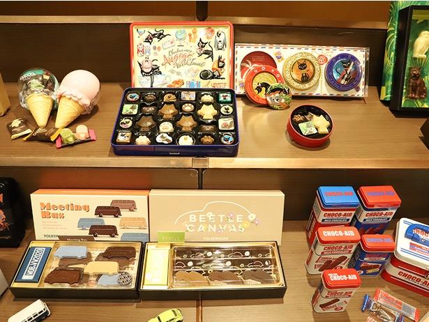 かわいいチョコレートばかりの「チョコ菓子マーケット」