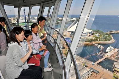 360度の絶景を楽しめる「シーパラダイスタワー」