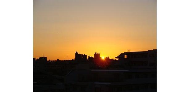 6:50 かすかに日がのぼってきた