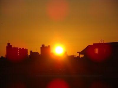 7:00 完全に日が昇りきりました