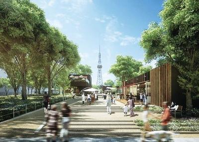 「久屋大通公園」が、飲食店や有名ショップ、体験施設などが盛りだくさんの場所に生まれ変わる