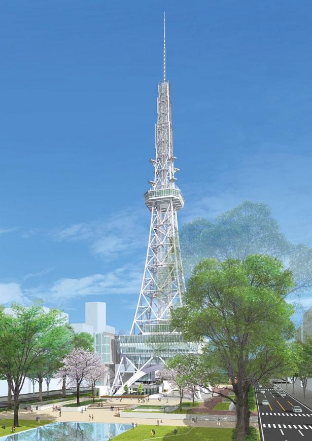 2020年7月にリニューアルオープンする「名古屋テレビ塔」は、ホテルにグルメに見どころ満載