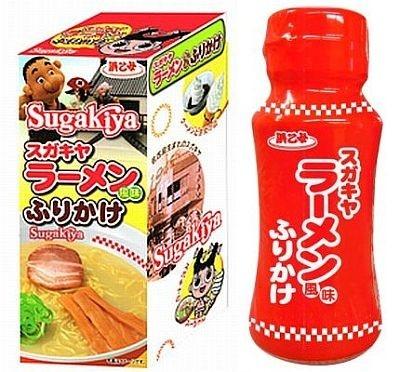 浜乙女から4月に発売された「スガキヤラーメン風味ふりかけ」(420円/45g)
